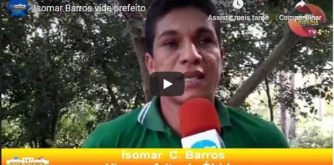 Vice-prefeito de Óbidos Isomar Barros esteve visitando 4 comunidades   Portal Obidense