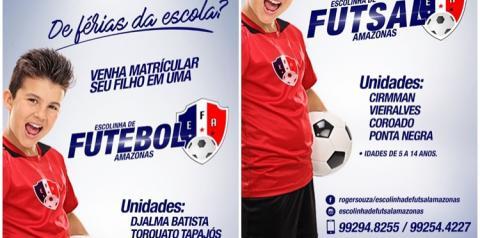 Escolinha de Futsal Amazonas inicia matriculas para crianças de 05 a 14 anos | Portal Obidense