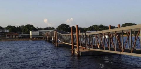 Governo inaugura terminal hidroviário de Faro, no Baixo Amazonas | Portal Obidense