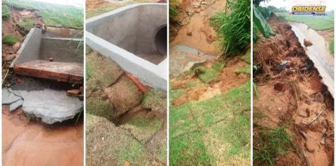 PA-437 apresenta problemas após chuvas   Portal Obidense