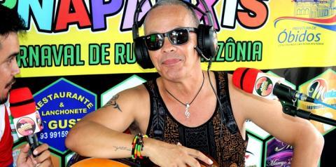 Xande Alves fala sobre a ansiedade de cantar pela primeira vez no bloco Xupa Osso   Portal Obidense