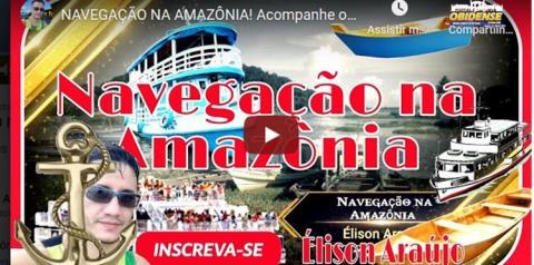 Curta Vídeo - Navegação na Amazônia da canoa ao Ferry Boat   Portal Obidense