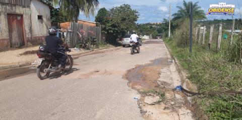 Bairro Bela Vista sofre com ruas esburacadas   Portal Obidense