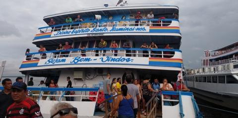 Programação Ferry Boat Obidense II, sai de Manaus nesta sexta-feira (12) levando cargas e encomendas   Portal Obidense
