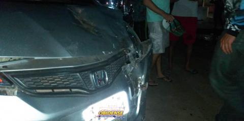 Acidente grave na Nelson Sousa envolvendo adolescente e vereador, em Óbidos   Portal Obidense
