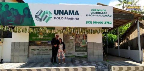 Cidade de Prainha conta agora com um Polo da Universidade da Amazônia (UNAMA) | Portal Obidense