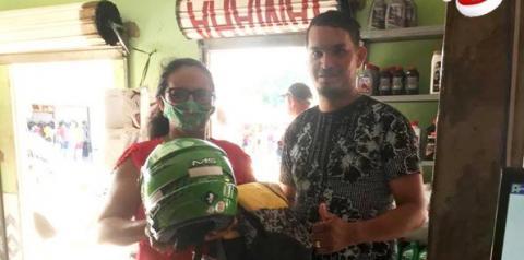Em Curuá, loja Gugu Motos entrega prêmios   Portal Obidense