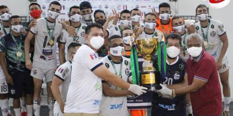 Juventude leva título da Copa Norte disputada em Santarém   Portal Obidense