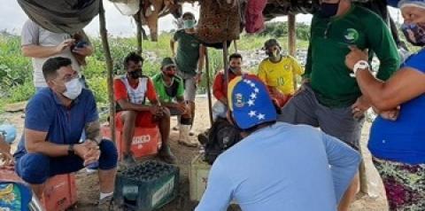 Secretaria do Interior e Semma discutem território sustentável com associação dos catadores de resíduos sólidos de Oriximiná   Portal Obidense