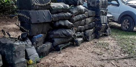 Polícias Militar e Civil apreendem mais de uma tonelada de drogas em Bujaru   Portal Obidense