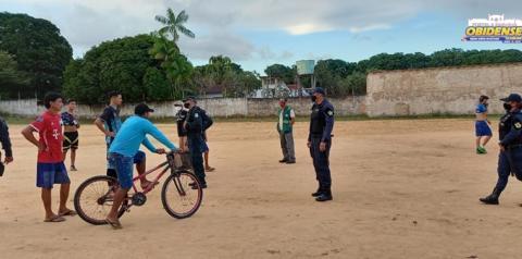 Em Oriximiná, Campos de futebol são alvos de fiscalização contra aglomerações | Portal Obidense