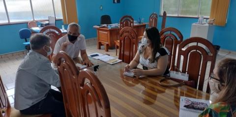 Equipe da SESPA visita o município de Óbidos | Portal Obidense