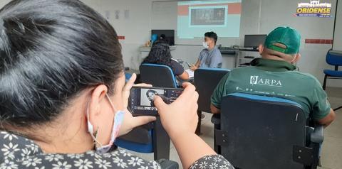 Em Oriximiná, oficina aborda técnicas de fotografia e vídeo em dispositivos móveis | Portal Obidense