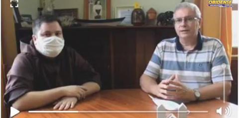 Em vídeo, bispo e presidente da Santa Casa, falam em buscar soluções para o impasse entre prefeitura e hospital | Portal Obidense