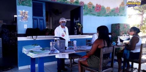 Comunidade Vila Arapucú recebe atendimentos da equipe itinerante da SEMDES   Portal Obidense