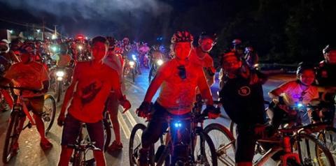 Ciclistas organizados de Óbidos participam do Círio de Sant´Ana | Portal Obidense