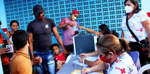 Prefeitura de Óbidos leva serviços e atendimentos até a comunidade Igarapé-Açu   Portal Obidense