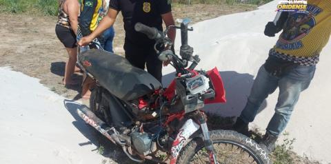 Em Óbidos, polícia procura proprietário de motocicleta | Portal Obidense