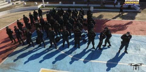 Governo do Estado envia 13 policiais militares que irão compor a 29° CIPM de Óbidos   Portal Obidense