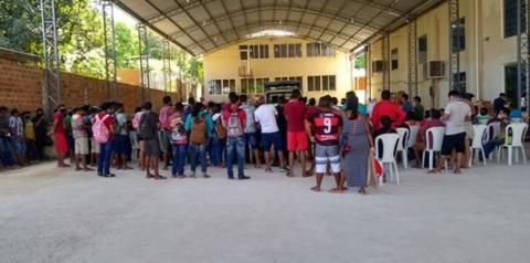 Prefeitura continua vacinação no Ginásio da Assembleia de Deus | Portal Obidense
