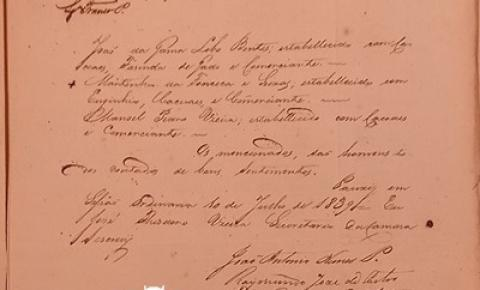 Documentos Pauxis: Lista para Juiz dos Órfãos de 1839 | Portal Obidense