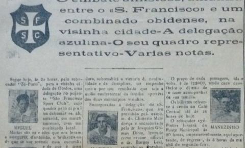 Uma excursão do São Francisco Futebol Clube de Santarém a Óbidos em 1933