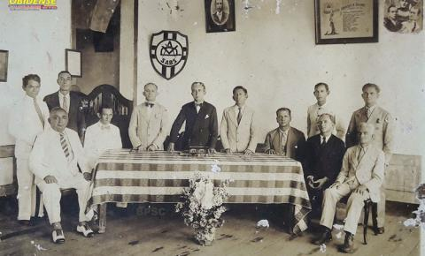Uma diretoria da antiga Sociedade Artística de Santarém – 1935