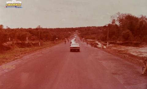 Vista da Rodovia Fernando Guilhon em 1982