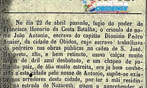 Óbidos e a Escravidão – Em Óbidos existia o maior número de escravos da região oeste do Pará | Portal Obidense