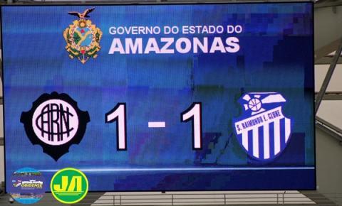 Rio Negro e São Raimundo abriram a sexta rodada do campeonato amazonense na Arena da Amazônia