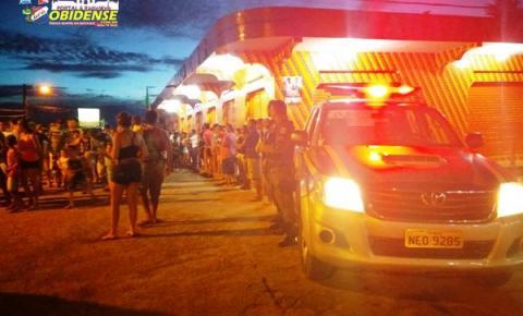 Está sendo realizado Óbidos, pela Polícia Militar uma operação especial ao combate de tráfico, armas e condenados foragidos.