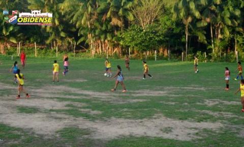 Tudo pronto para a 1ª Copa Oeste do Pará de Futebol Feminino. Selecionado Obidense se prepara, mais ainda busca apoio.