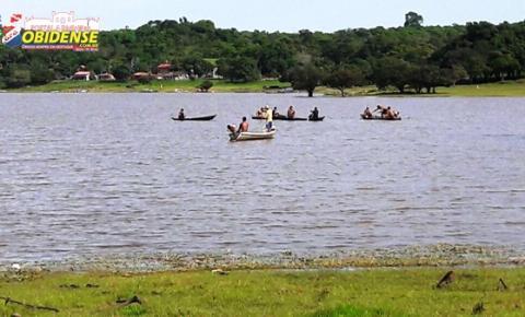 Jovem Anderson Caetano desaparece no logo do Arapucu no município de Óbidos nesta manhã de sábado (21).