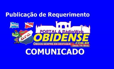 Empresa Braga & Teixeira realiza Pedidos de Licenças, Junto à SEMMA de Óbidos.
