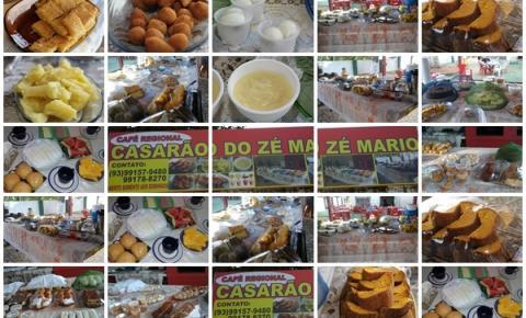 Em Óbidos você vai encontrar o melhor Café Regional da cidade no Casarão do Zé Mario