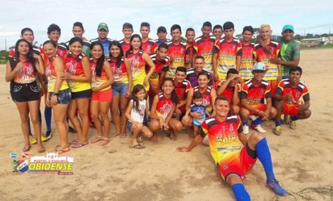 A equipe do Umarizal, levantou a taça da 1ª Copa Vitrine de Ouro em Óbidos.
