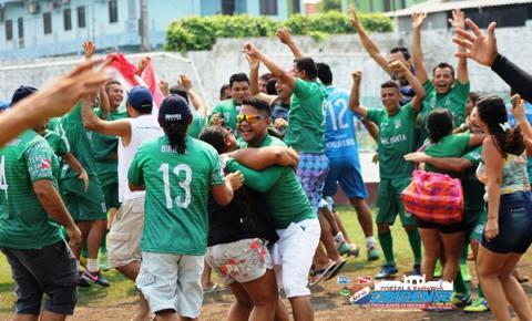 Neste mês de abril equipe de futebol representante da cidade de Terra Santa- PA, Completa 2 anos em atividade em Manaus.