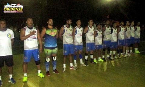O time de Óbidos que estava disputando a primeira Copa Unisport de vôlei em Santarém, ficou com o segundo lugar