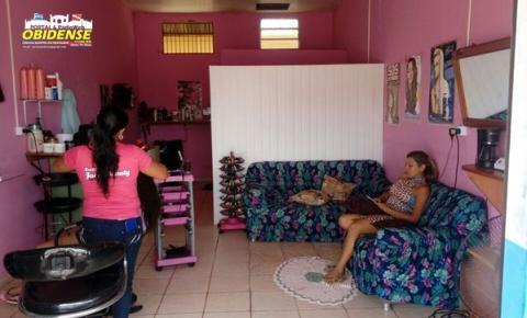 Em Monte Alegre salão de beleza, faz promoção especial para o dia das mães.