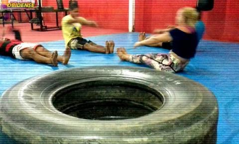 Em Óbidos atletas de MMA, treinam no limite em busca de um bom resultado nas competições.