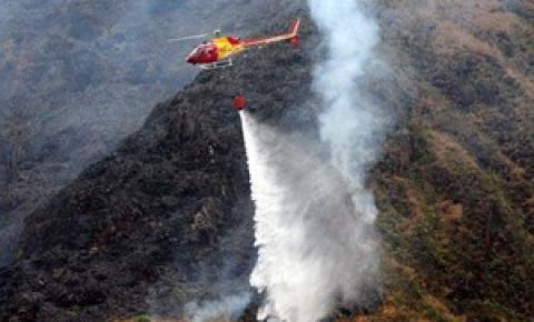Incêndio de quatro dias na Serra da Canastra, MG, é controlado