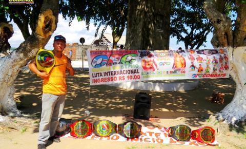 Sem recurso e sem patrocínio treinador de MMA em Óbidos, vive uma luta solitária para prosseguir com seu sonho de vencer.