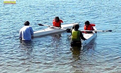 Oriximiná no oeste do Pará, ganha Polo de prática de canoagem