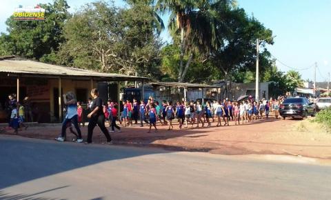 Em Óbidos no Pará, escolas começam os ensaios para o desfile de 7 de setembro nas ruas da cidade.