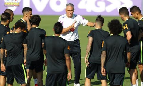Seleção Brasileira de futebol, fará dois treinos em Manaus na Arena da Amazônia antes de enfrentar a Colômbia.