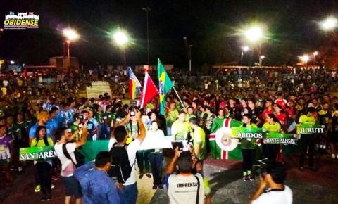 Teve início na quarta-feira (13) a 10ª edição dos Jogos Abertos do Pará. Pela primeira vez Oriximiná como sede das cidades do Oeste do Pará.