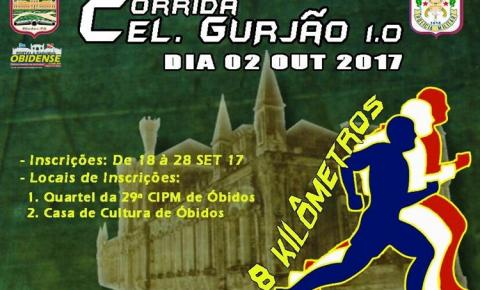 De inciativa da polícia Militar de Óbidos a corrida acontecerá dia 02 de outubro quando Óbidos completará 320 anos.