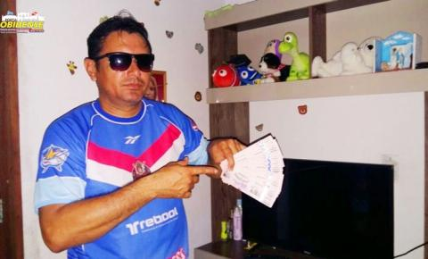 Time de futebol Canto dos Artista, chegam a Manaus dia 30 de setembro para jogo comemorativo aos 320 anos de Óbidos.