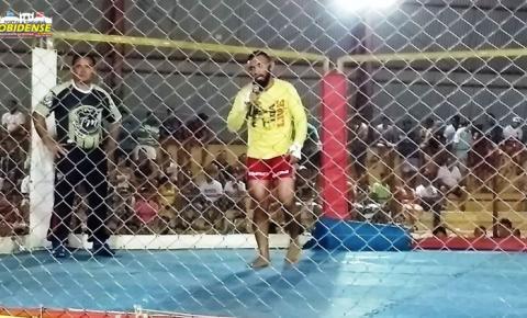 Atleta Obidense vence disputa de MMA na cidade de Monte Alegre