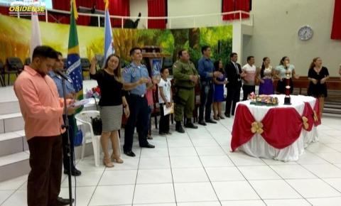 A 29ª Companhia Independente da Polícia Militar de Óbidos, realizou formatura dos alunos do PROER em Óbidos
